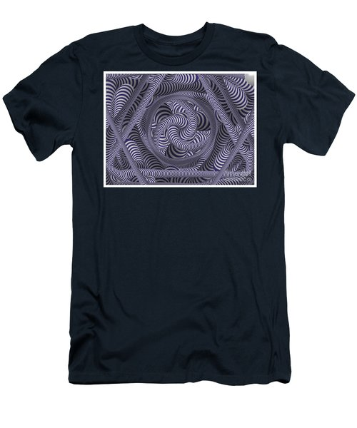 Nautical Coloured Design Men's T-Shirt (Athletic Fit)