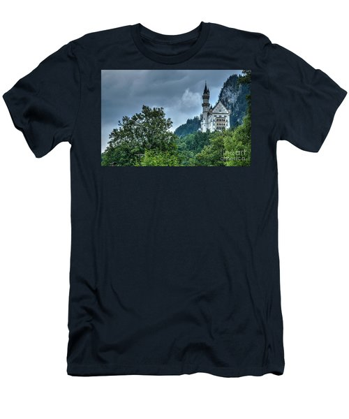 Men's T-Shirt (Slim Fit) featuring the photograph Neuschwanstein Castle by Joe  Ng