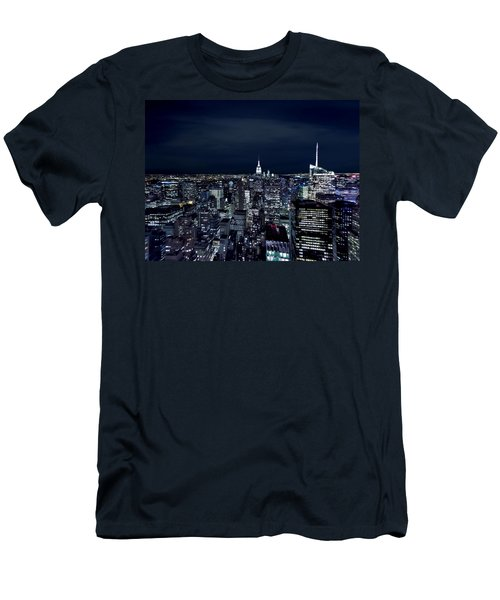 New York Evening Men's T-Shirt (Athletic Fit)