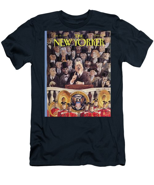 New Yorker January 25th, 1993 Men's T-Shirt (Athletic Fit)