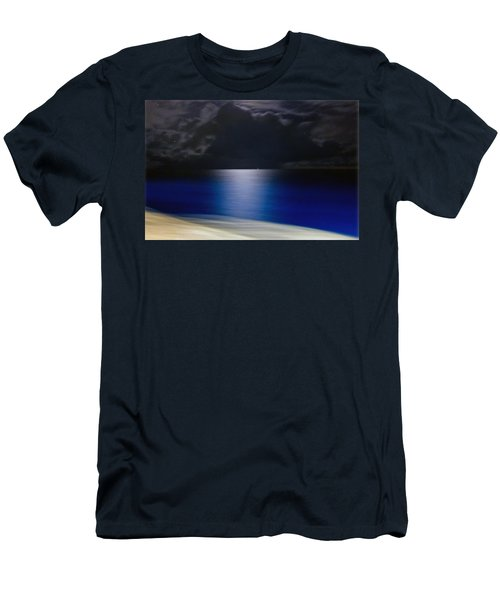 Night And Water Men's T-Shirt (Athletic Fit)