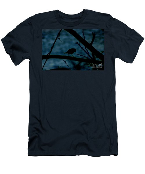 Night Bird Men's T-Shirt (Athletic Fit)