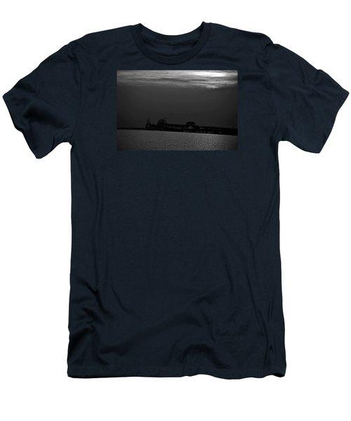 Night Bridge Men's T-Shirt (Athletic Fit)