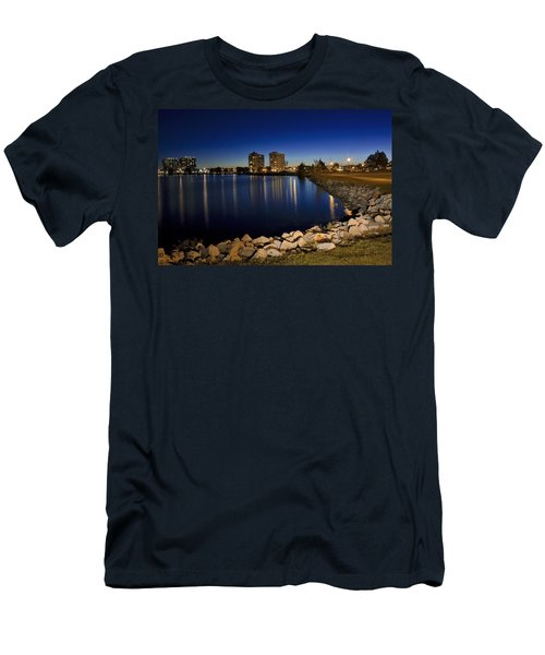 Night Light In Barrie Men's T-Shirt (Athletic Fit)