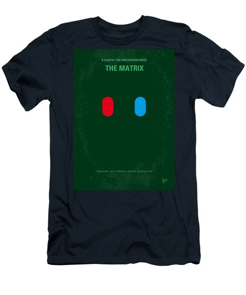 No117 My Matrix Minimal Movie Poster Men's T-Shirt (Athletic Fit)
