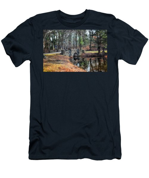November Reflections Men's T-Shirt (Slim Fit) by Tricia Marchlik