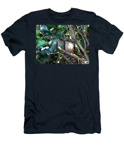 Now What Men's T-Shirt (Slim Fit) by Skip Willits