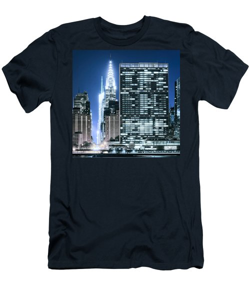 Ny Sights Men's T-Shirt (Athletic Fit)
