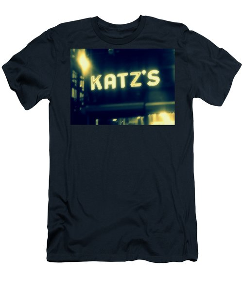Nyc's Famous Katz's Deli Men's T-Shirt (Athletic Fit)