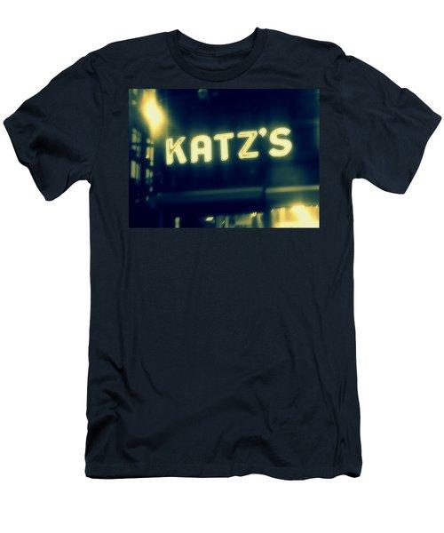 Nyc's Famous Katz's Deli Men's T-Shirt (Slim Fit)