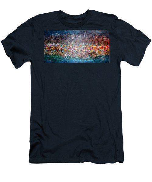 Oak Street Beach Chicago II -sold Men's T-Shirt (Athletic Fit)