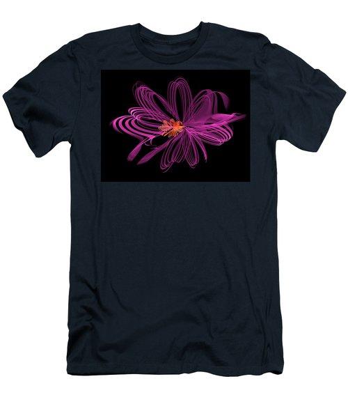 Oblong Loops Men's T-Shirt (Slim Fit)