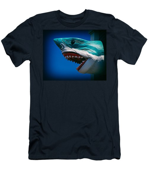 Ocean City Shark Attack Men's T-Shirt (Athletic Fit)