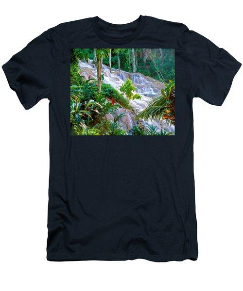 Ocho Rios Jamaica Men's T-Shirt (Athletic Fit)