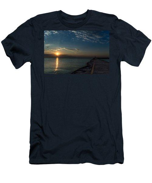 October Sunrise Men's T-Shirt (Athletic Fit)