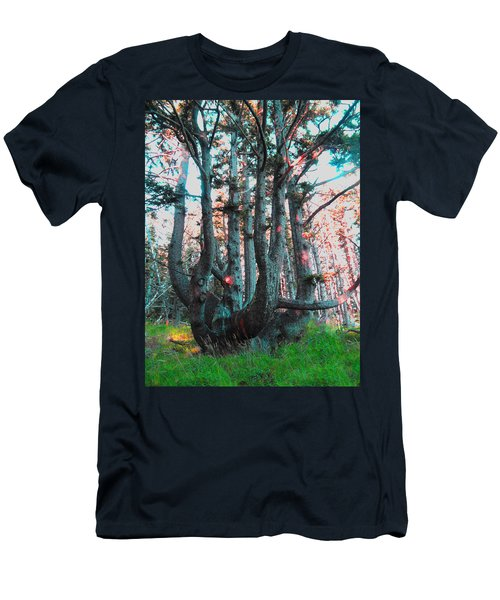 Octopus Tree  Men's T-Shirt (Athletic Fit)