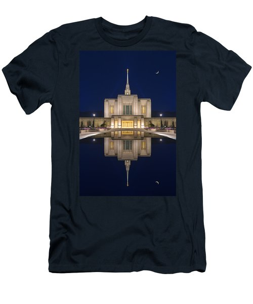 Ogden Temple Reflection Men's T-Shirt (Athletic Fit)