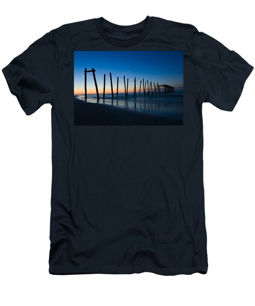 Old Broken 59th Street Pier Men's T-Shirt (Athletic Fit)