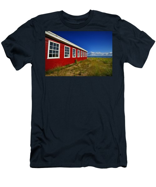 Old Cannery Building Men's T-Shirt (Athletic Fit)