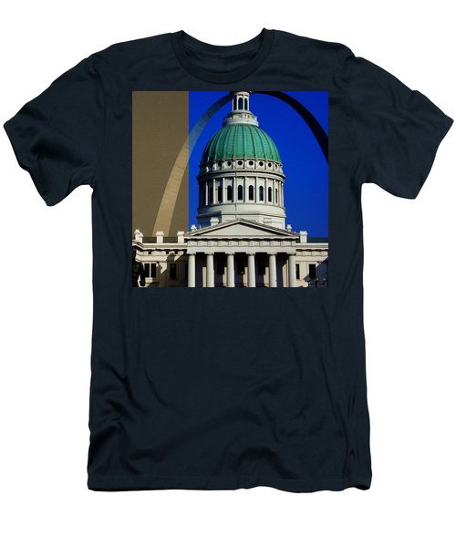 Old Courthouse Dome Arch Men's T-Shirt (Athletic Fit)