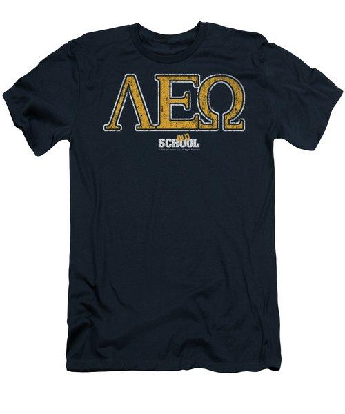 Old School - Leo Men's T-Shirt (Athletic Fit)