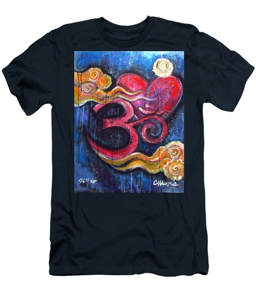 Om Heart Of Kindness Men's T-Shirt (Athletic Fit)
