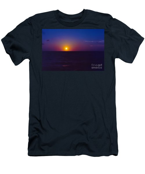 On The Horizon Men's T-Shirt (Slim Fit) by Anita Lewis