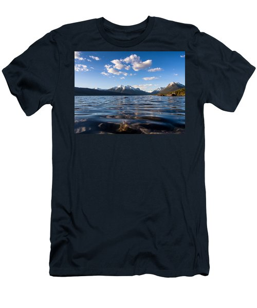 On The Lake Men's T-Shirt (Slim Fit) by Aaron Aldrich