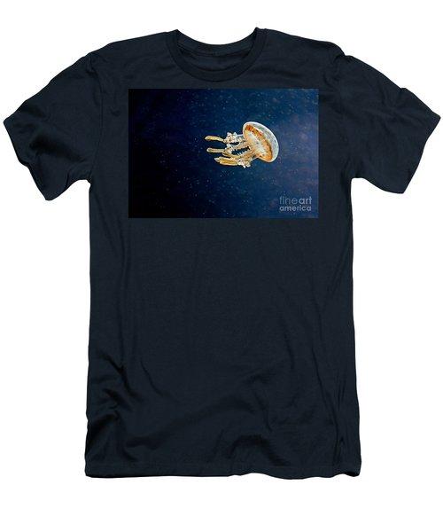 One Jelly Fish Art Prints Men's T-Shirt (Slim Fit) by Valerie Garner