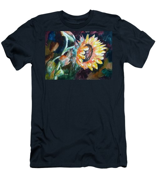 One Sunflower Men's T-Shirt (Athletic Fit)