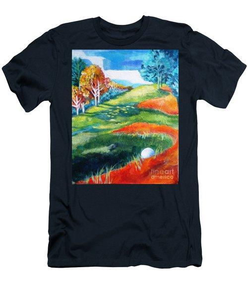 Oops - Bad Lie Men's T-Shirt (Athletic Fit)