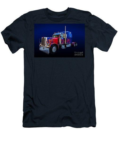 Optimus Prime Blue Men's T-Shirt (Athletic Fit)