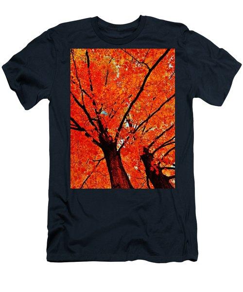 Orange...the New Green Men's T-Shirt (Slim Fit) by Daniel Thompson