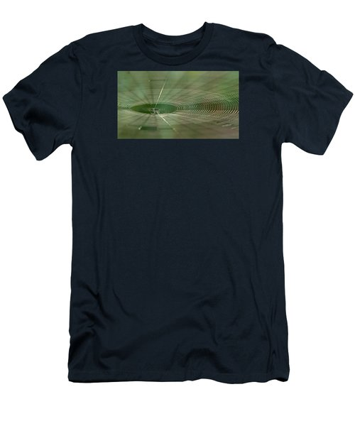 Men's T-Shirt (Slim Fit) featuring the photograph Orchard Orbweaver #2 by Paul Rebmann
