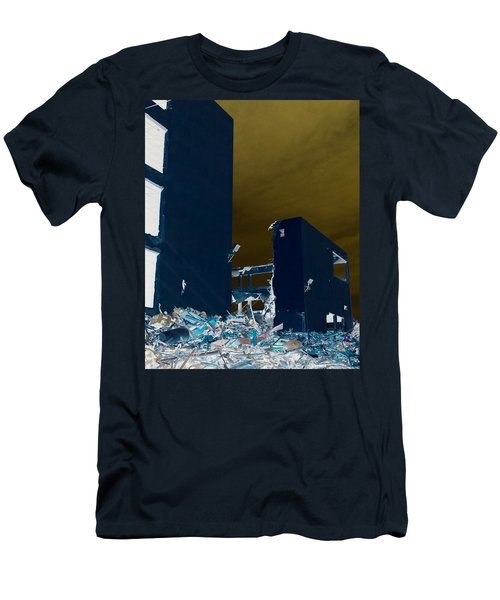 Men's T-Shirt (Slim Fit) featuring the photograph Out With The Old by J Anthony