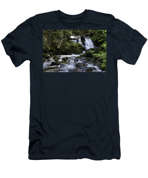 Packer Falls And Creek Men's T-Shirt (Athletic Fit)