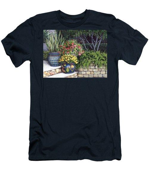 Painted Pots Men's T-Shirt (Athletic Fit)