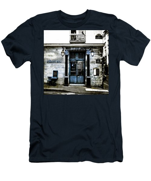 Paris Blues Men's T-Shirt (Athletic Fit)