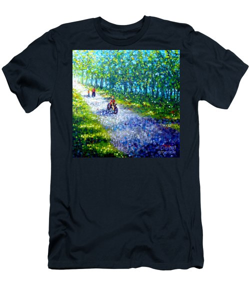 Park On St Helen Island - Montreal Men's T-Shirt (Athletic Fit)