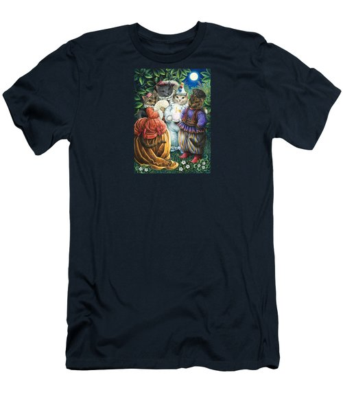 Party Cats Men's T-Shirt (Athletic Fit)
