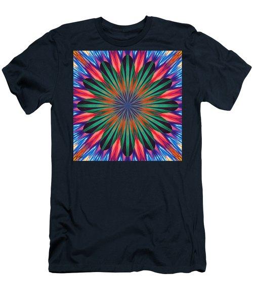 Passion Flower On Venus Men's T-Shirt (Athletic Fit)