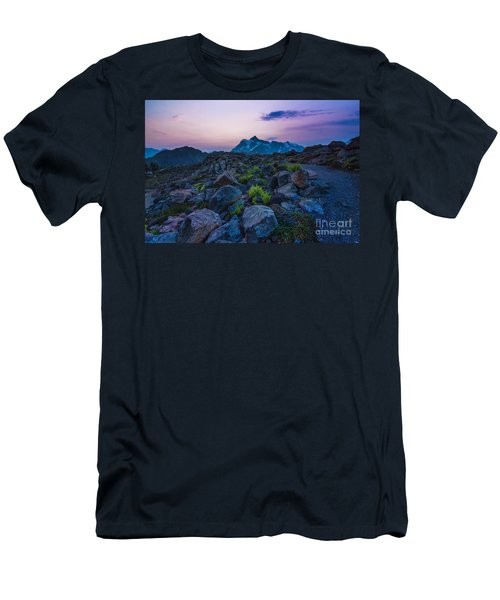 Men's T-Shirt (Athletic Fit) featuring the photograph Pathway To Light by Gene Garnace