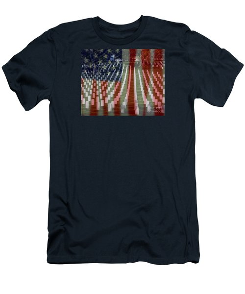 Patriotism Men's T-Shirt (Athletic Fit)