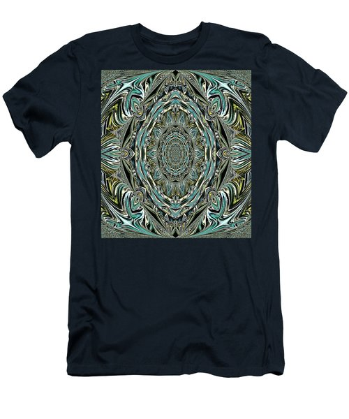 Men's T-Shirt (Slim Fit) featuring the photograph Pattern. Art For Home And Office by Oksana Semenchenko