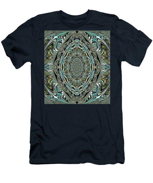 Pattern. Art For Home And Office Men's T-Shirt (Slim Fit) by Oksana Semenchenko