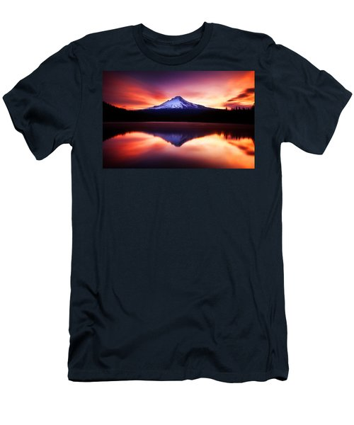 Peaceful Morning On The Lake Men's T-Shirt (Athletic Fit)