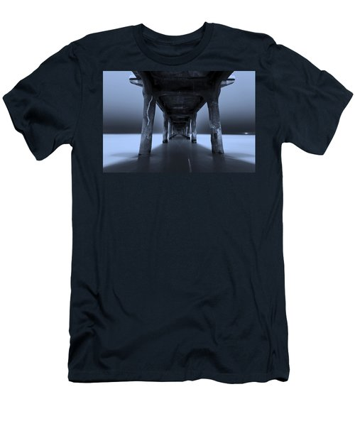 Men's T-Shirt (Slim Fit) featuring the photograph Peaceful Pacific by Mihai Andritoiu