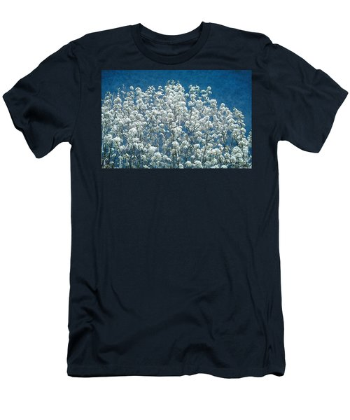 Pear Blossoms Men's T-Shirt (Athletic Fit)