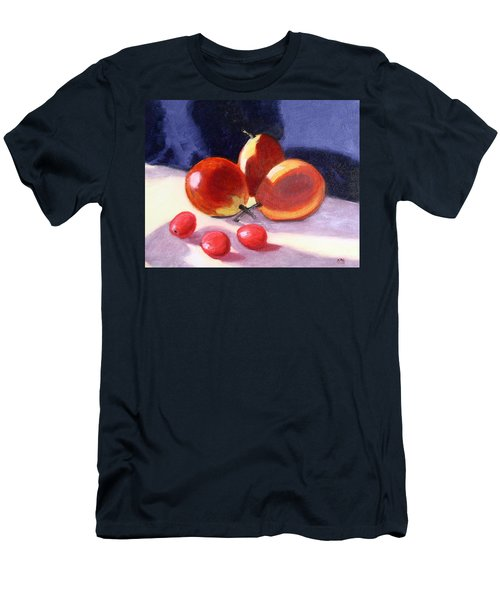 Pears And Grapes Men's T-Shirt (Slim Fit)