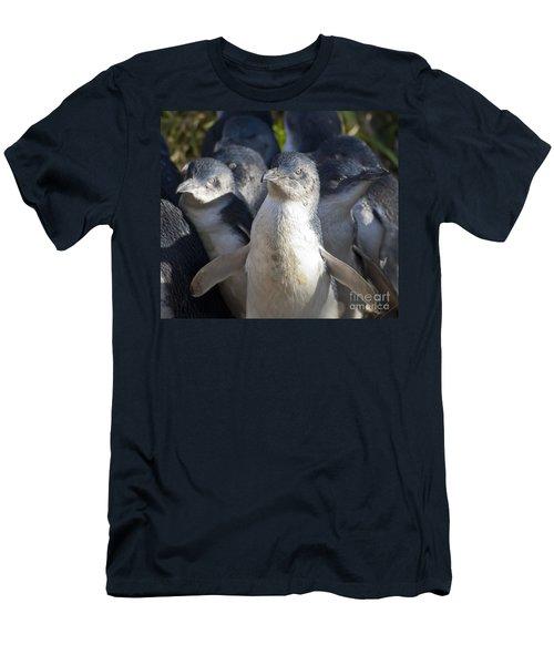 Penguins Men's T-Shirt (Athletic Fit)
